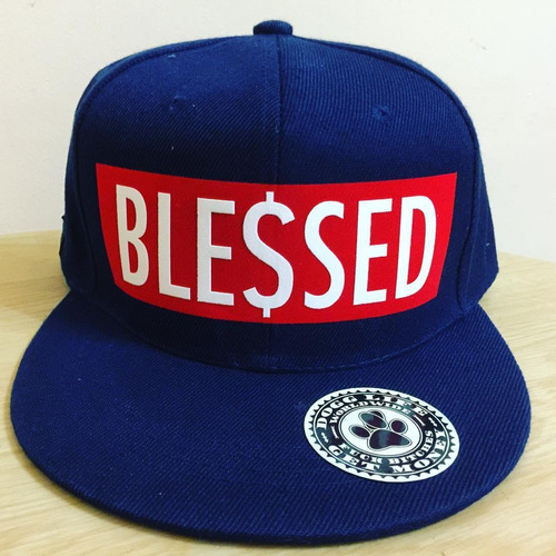 gorra plana blessed dogg life swag hip hop rap trap snapback
