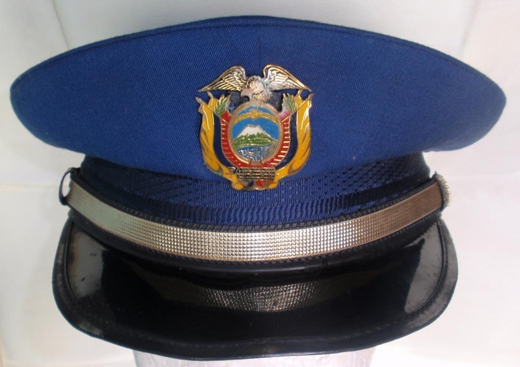 gorra policia nacional de ecuador obsoleta de coleccion rara. Cargando zoom. ee04f166342