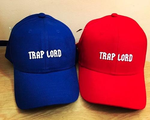 gorras curvas king y queen - varios colores - dogg life trap