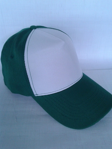 gorras lisas 5 gajos poliester 100% tamaño adulto colores
