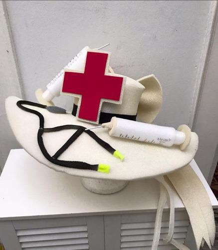 gorro de doctora enfermera polyfon (por pedido)