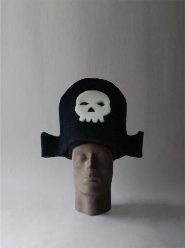 gorro de pirata- sombrero de cotillon, fiestas, casamientos