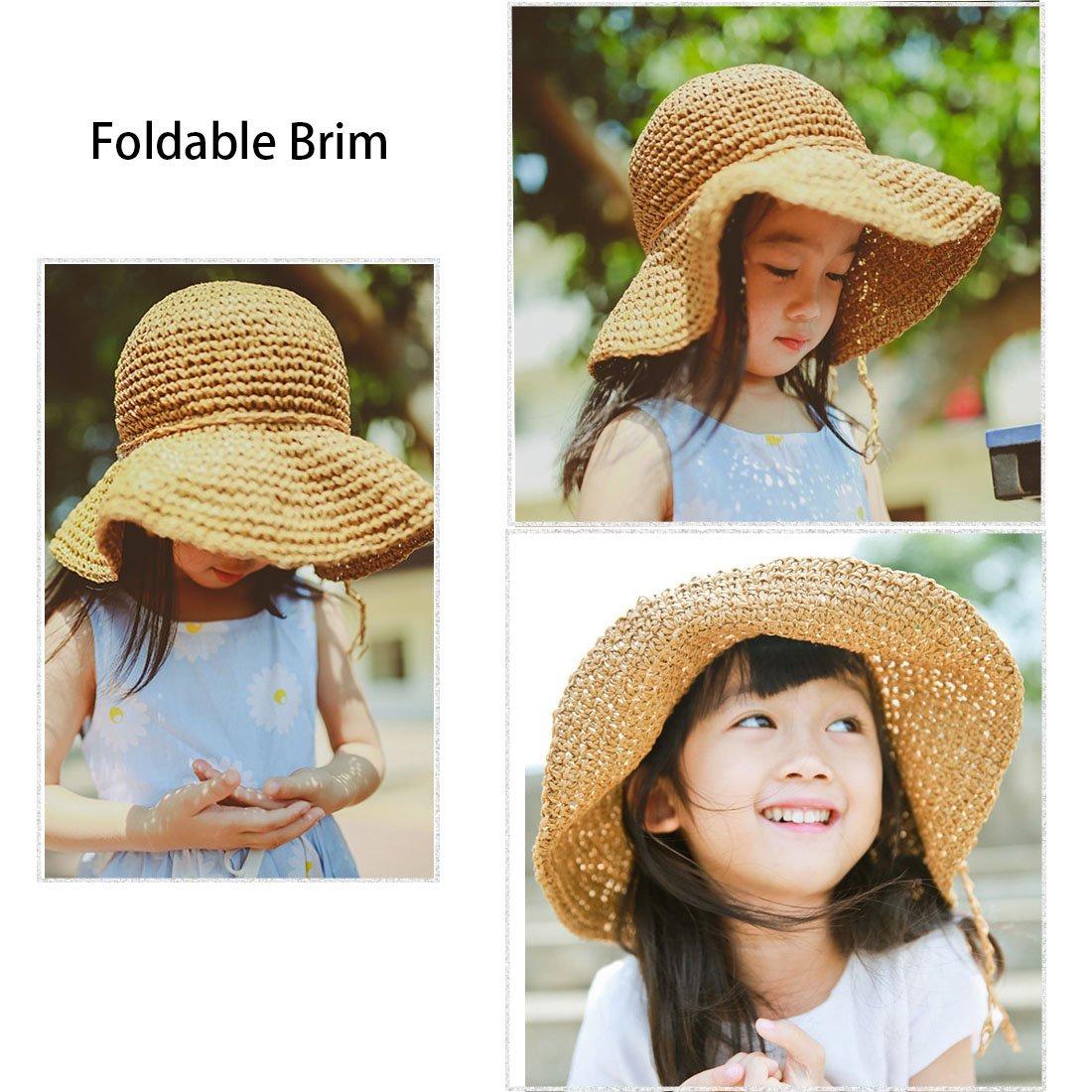 29e55e83454cc Gorro De Sombrero Yopindo Conjunto Sombrero De Paja Sol G - U S 46 ...