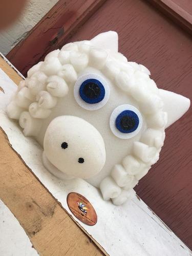 gorro disfraz  de oveja (por pedido)