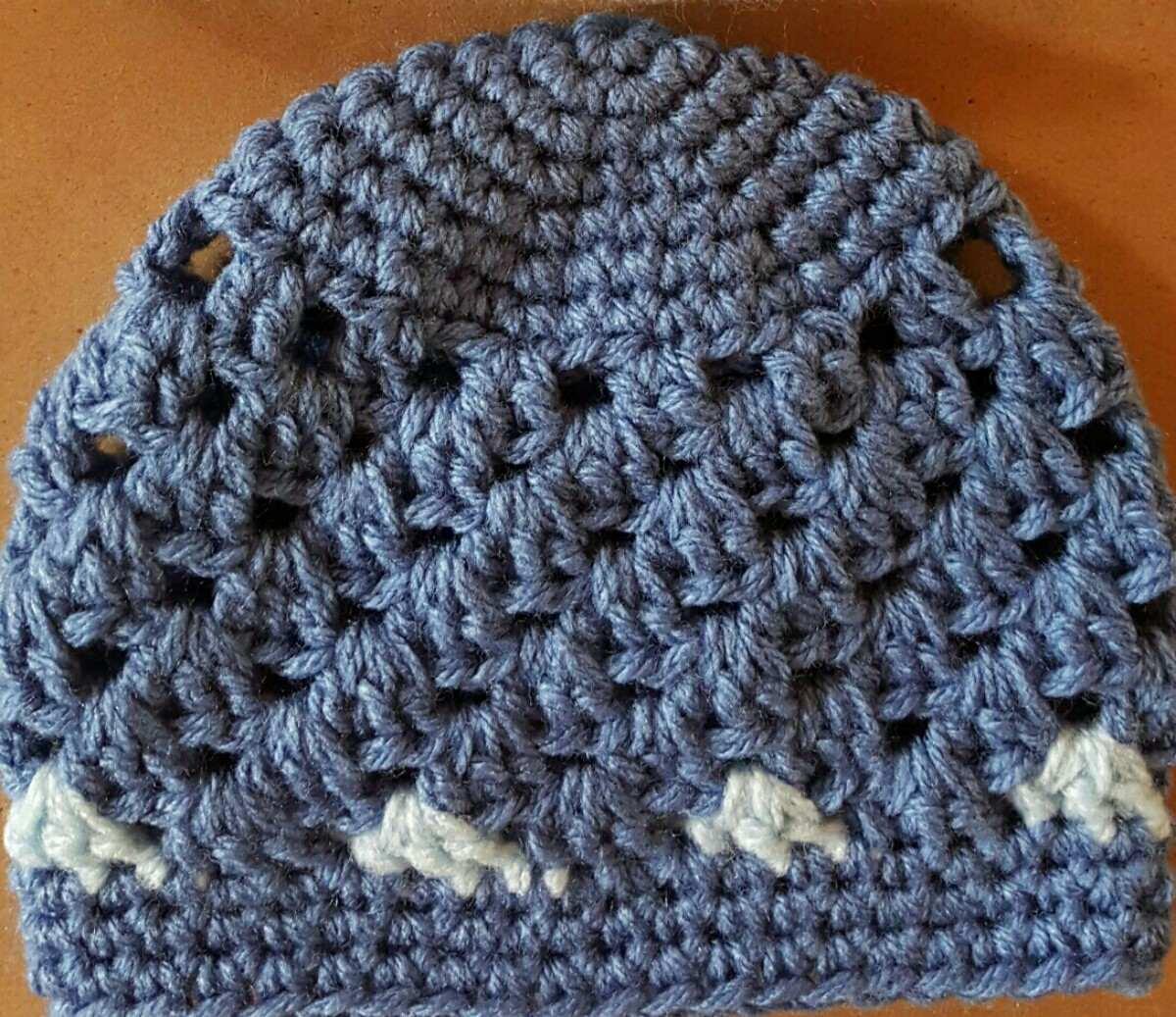 gorro en crochet bebé recién nacido. contorno cabeza 35 cm. Cargando zoom. 25c2f61fdde