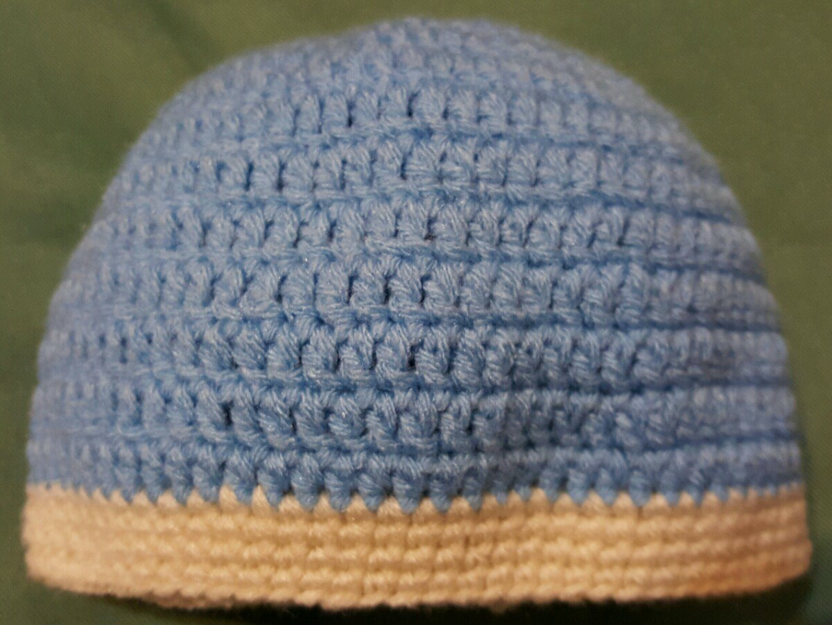 gorro en crochet para bebé 3 a 6 meses. Cargando zoom. 5713aed3adc