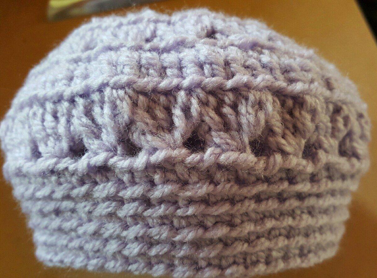 gorro en crochet para bebé recién nacido. 35 cm contorno. Cargando zoom. 18a2614337b