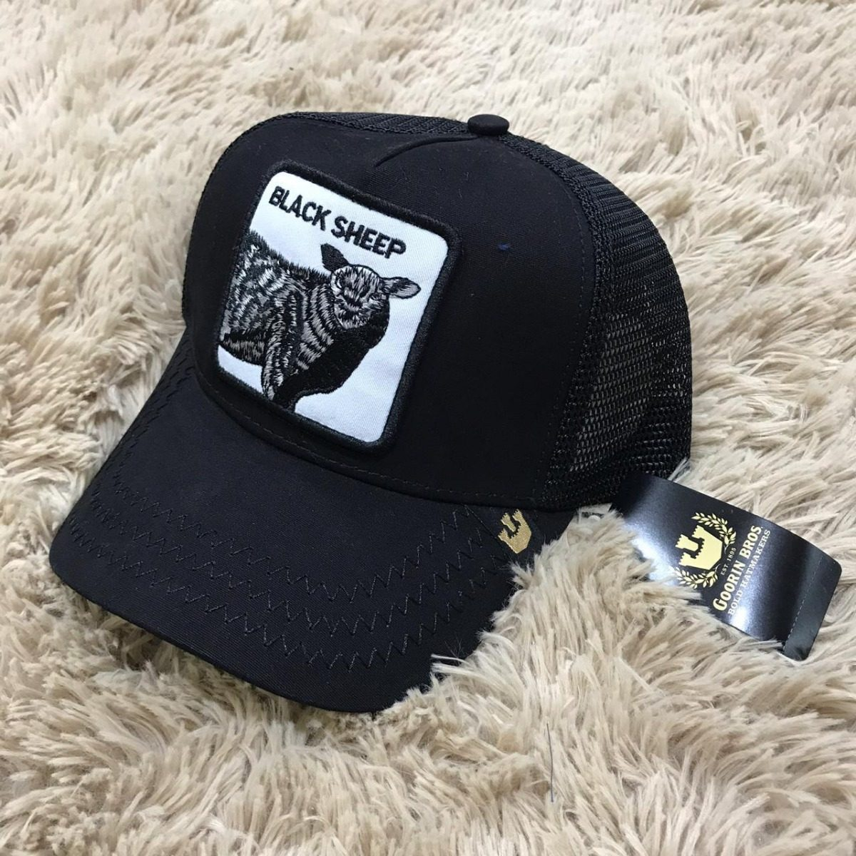 b54b42c3 Gorro Goorin Bros Black Sheep!!! - $ 2.000,00 en Mercado Libre