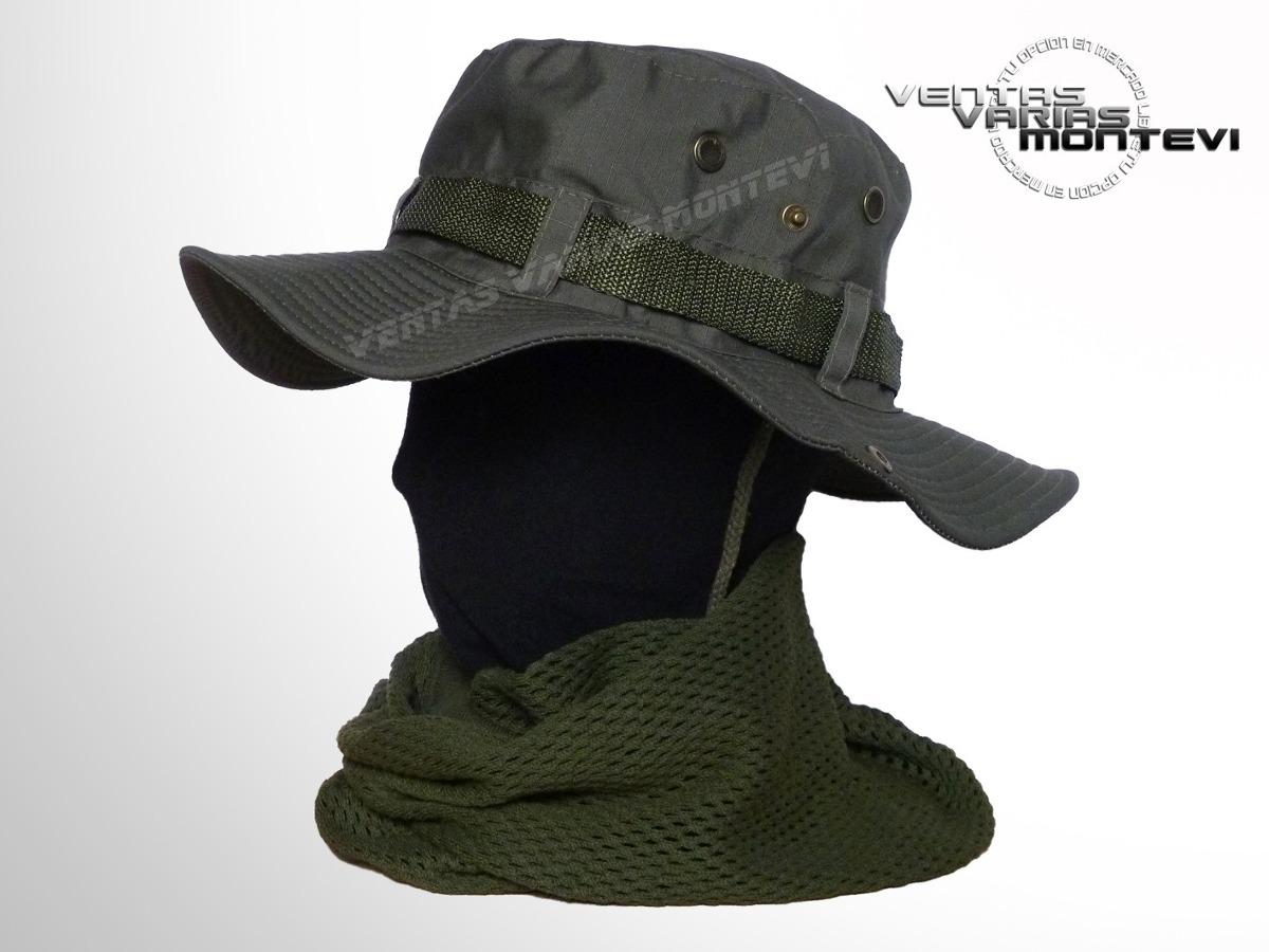 gorro pescador militar verde oliva. Cargando zoom. 0425ec84fa7