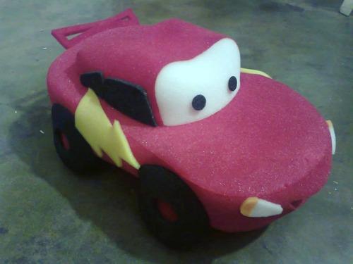 gorro polyfon  de cars (por pedido)