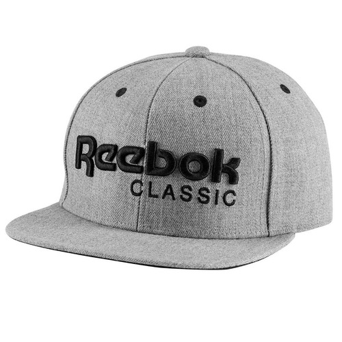 gorro reebok classic visera plana logo gorra ajustable