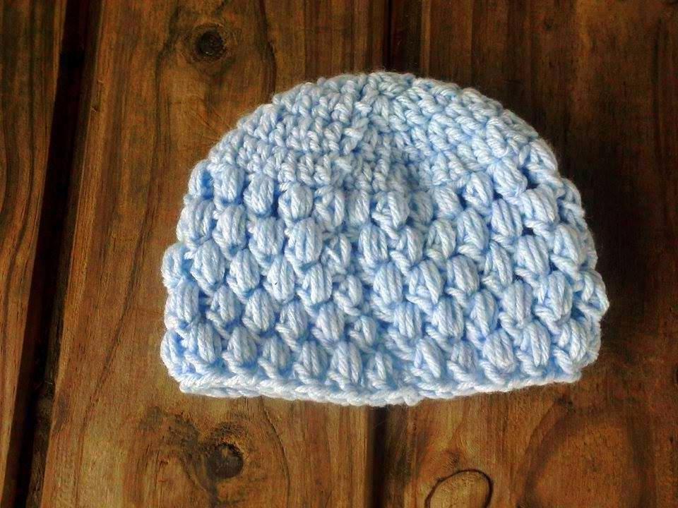 Gorro Tejido A Mano En Crochet Recien Nacido - $ 100,00 en Mercado Libre