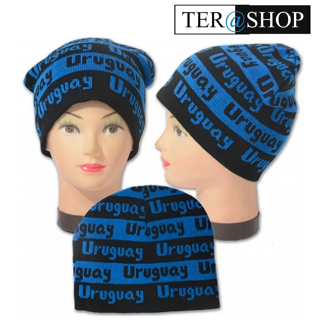 gorro uruguay de lana tejido franjas + envío gratis! Cargando zoom. c0d69ea9b2f