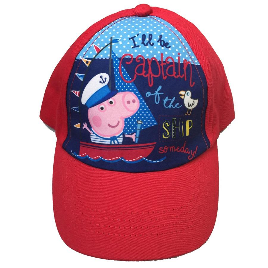 adc435f052ac3 Gorro Visera Niño Original Peppa Pig Rojo Ub-ub -   150