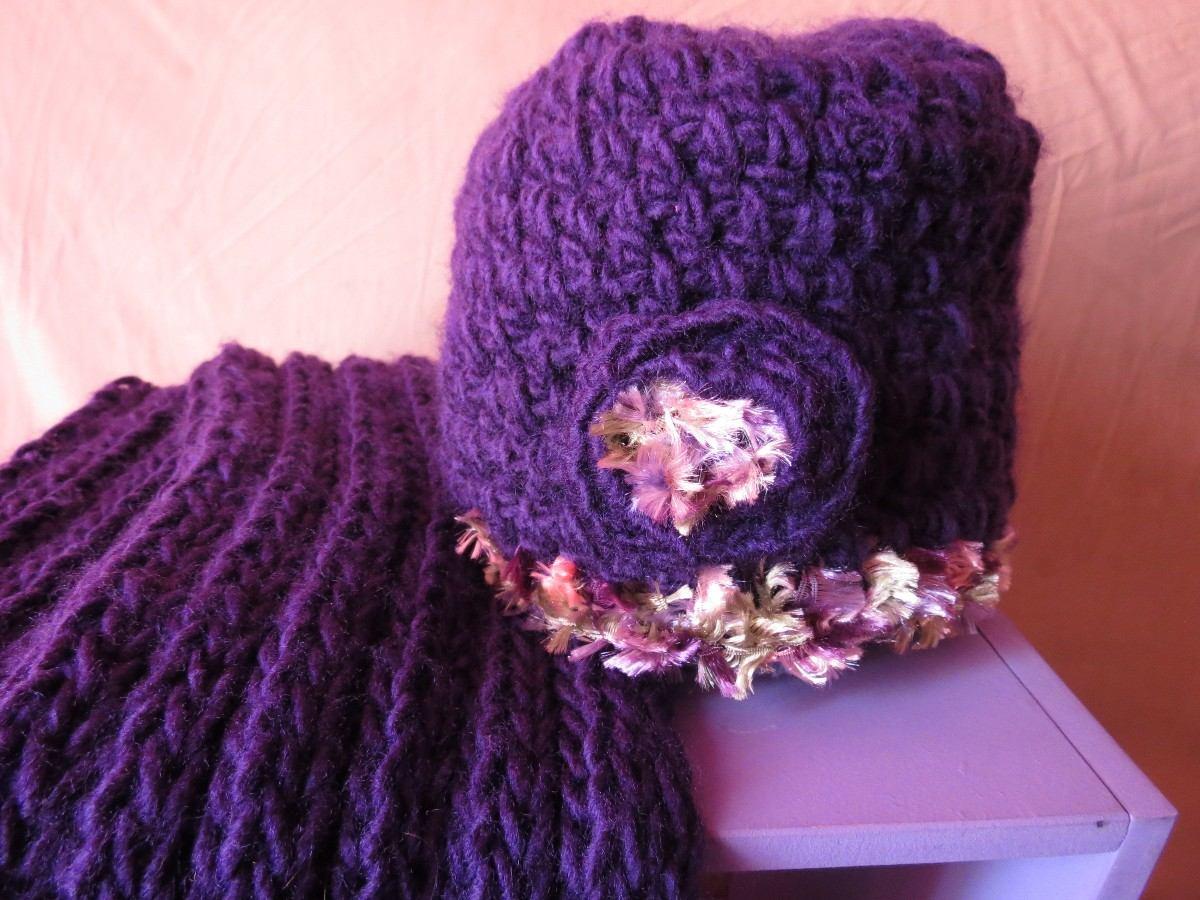 gorro y bufanda en lana para niña. Cargando zoom. a004599e93b