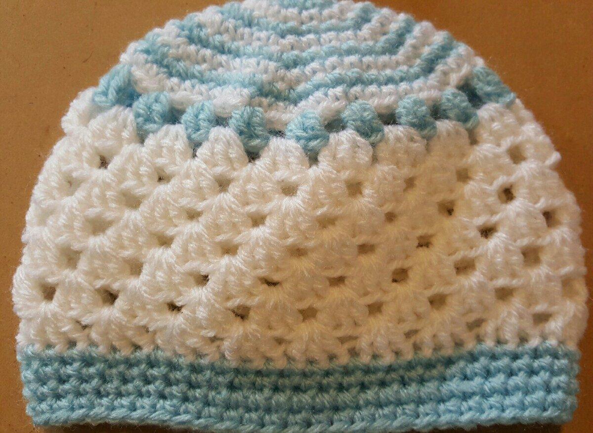 gorros crochet bebé recién nacido. contorno cabeza 38-39 cm. Cargando zoom. b29c75f2abb
