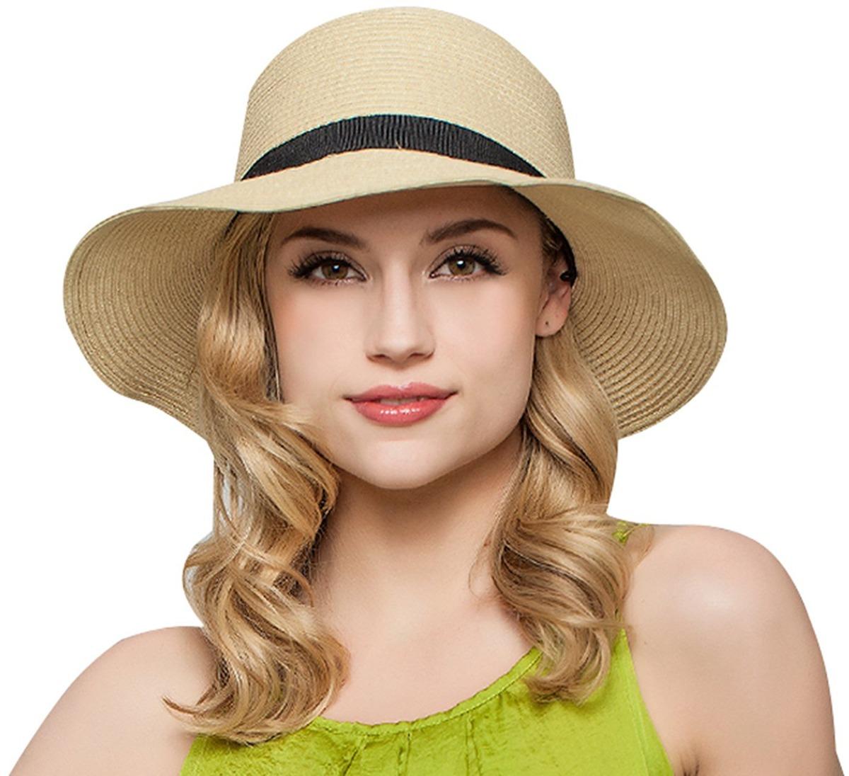 Gorros De Playa Floppy Sun Beach Sombreros Gorra De Veran - U S 49 ... 308217cfa0ea