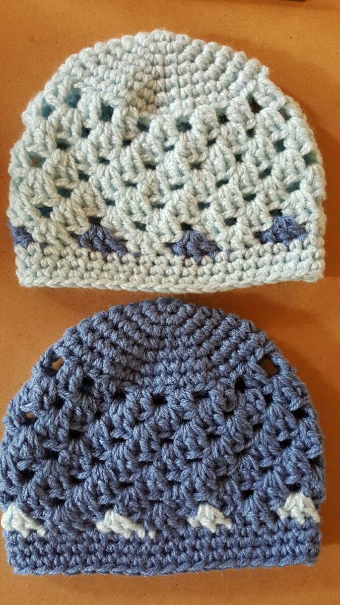 gorros en crochet bebé recién nacido. contorno cabeza 35 cm. Cargando zoom. 679478878ca