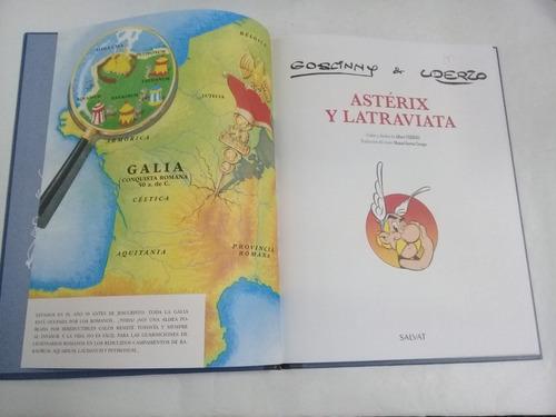 goscinny uderzo asterix y latraviata - edic. para coleccion.