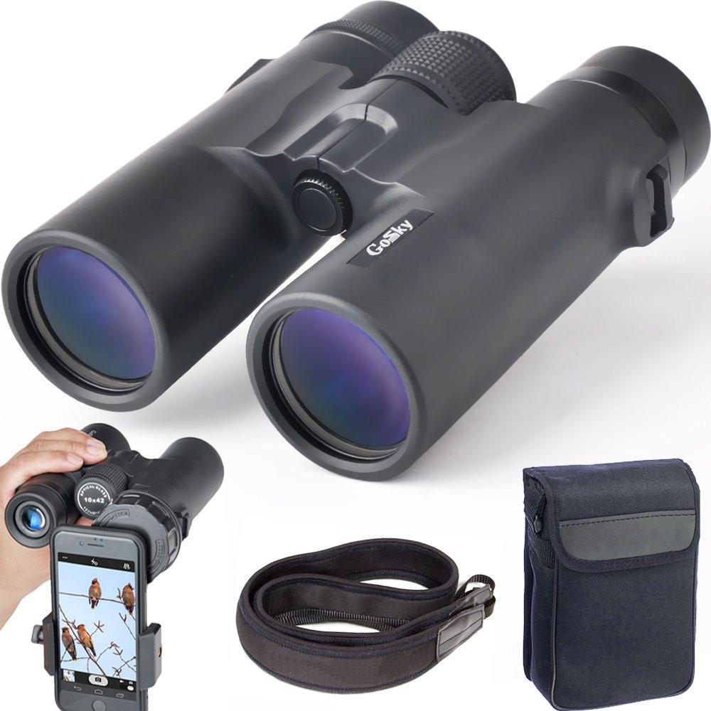 Gosky 10 X 42 Binoculares Para Adultos, Compacta Hd Profe - U$S 160 ...
