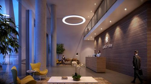 gran lanzamiento, torre 25 pisos con unidades 1, 2 y 3 dormitorios en la bahia de montevideo, uruguay