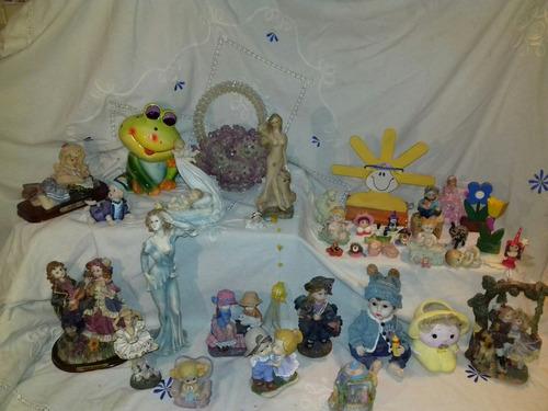 gran lote adornos infantiles resina estatuas esculturas
