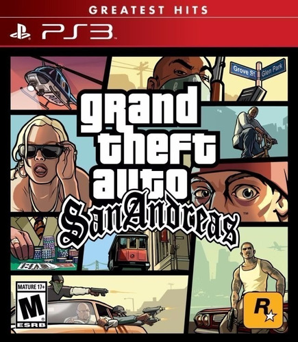 grand theft auto san andreas gta juego ps3 original