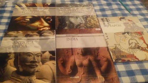 grandes civilizaciones de la historia - 5 vol -  ed. sol90