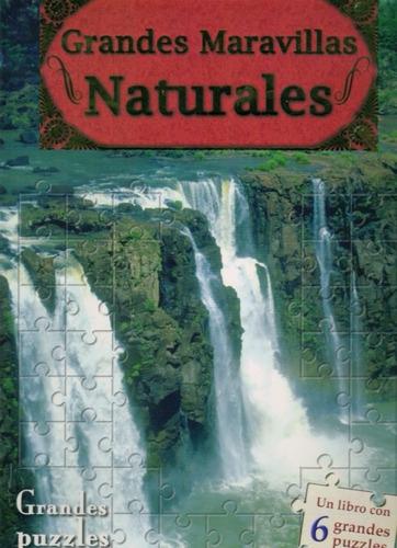 grandes maravillas naturales. libro puzzle