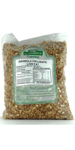granola crujiente paq. 1kg granel rumbo este