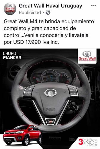 great wall haval m4  suv 1.500 cc. año 2019 - 0 km.