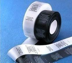 grifa de tela poliamida blanca - auto adhesiva -