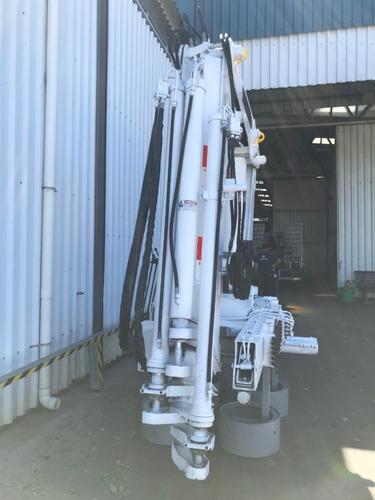 grúa para camión, hidrogrua 35 tonelametros