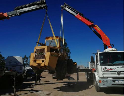 grúa y camión de auxilio en paysandú
