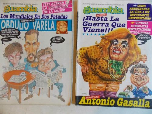 guambia - berp  y el dedo revistas