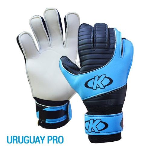 guantes de golero arquero fútbol niño portero knex mvdsport