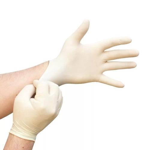 guantes descartables o examinación de latex ¡¡ caja x 100 !!