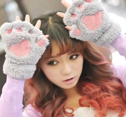 guantes especiales dejando libre los dedos