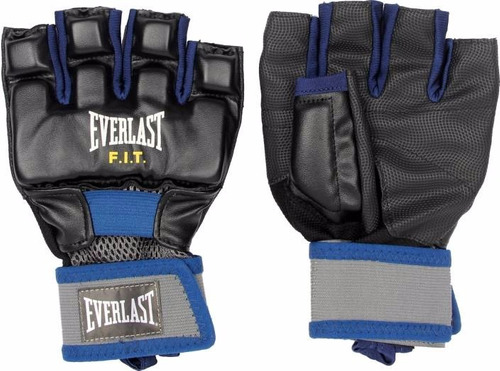 guantes mma entrenamiento everlast fit guantines polifuncion