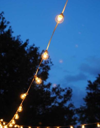 guia de  luces para  exterior  5 metros