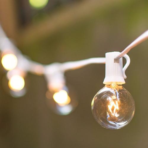 guía lamparitas vidrio simonas blancas. a brillar mi amor.