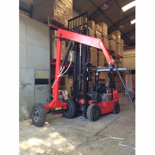 guinche agricola equus 1200kg hidraulico