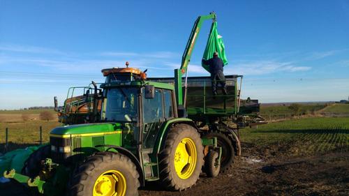 guinche donder con ruedas para big bag maquinaria agricola
