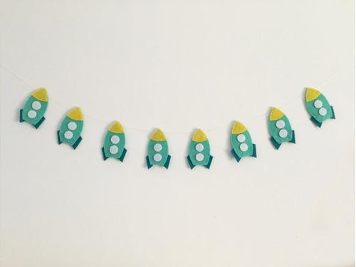 guirnalda de fietro cuarto de bebe decoracion