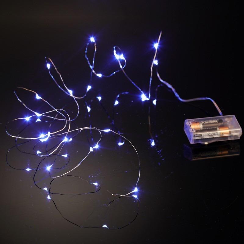 b7303d962cb guirnalda mini luces 20 led navidad decoración a pila. Cargando zoom.