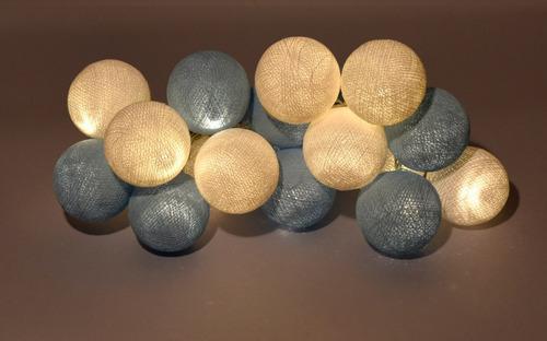 guirnaldas de luces esferas enchufe. a brillar mi amor.