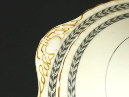 Guisera Myott Staffordshire 25cm, Relieves Y Guarda Gris. - $ 455,00 ...