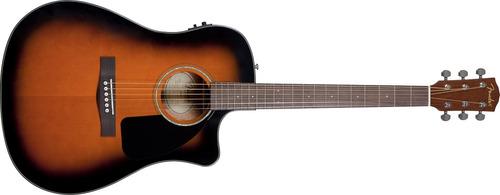 guitarra elect/acust fender cd60ce c/estuche