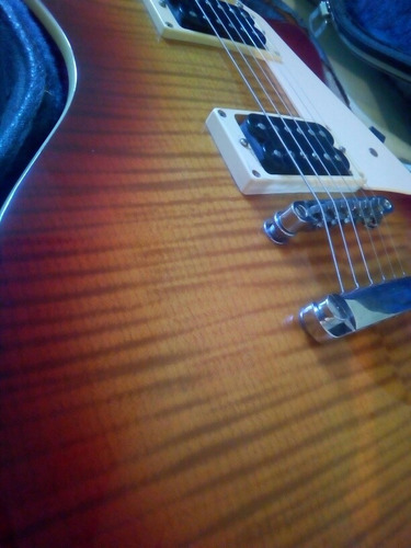 guitarra eléctrica samick, micros seymour duncan anilco...