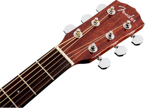 guitarra electroacústica fender cd140sce all mahogany